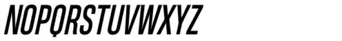 Heading Pro Compressed Italic Font UPPERCASE