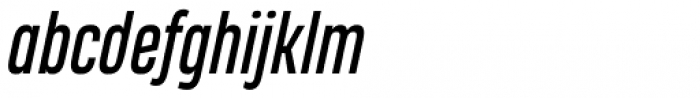 Heading Pro Compressed Italic Font LOWERCASE