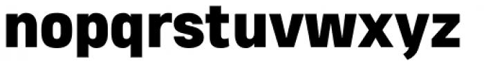 Heading Pro Double Heavy Font LOWERCASE