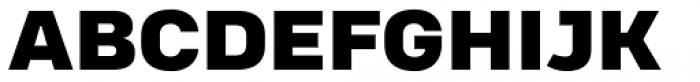 Heading Pro Treble Heavy Font UPPERCASE