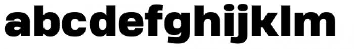 Heading Pro Treble Heavy Font LOWERCASE
