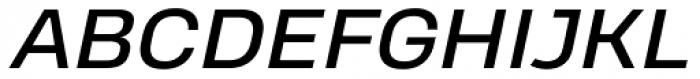 Heading Pro Treble Italic Font UPPERCASE