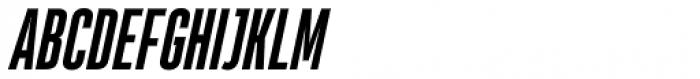 Heading Pro Ultra Compressed Bold Italic Font UPPERCASE