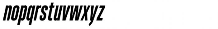 Heading Pro Ultra Compressed Bold Italic Font LOWERCASE