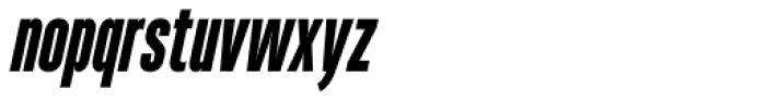 Heading Pro Ultra Compressed Extra Bold Italic Font LOWERCASE