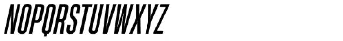 Heading Pro Ultra Compressed Italic Font UPPERCASE
