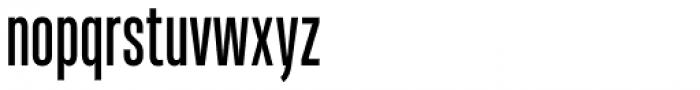 Heading Pro Ultra Compressed Regular Font LOWERCASE