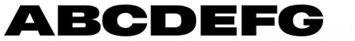 Heading Pro Ultra Wide Black Font UPPERCASE