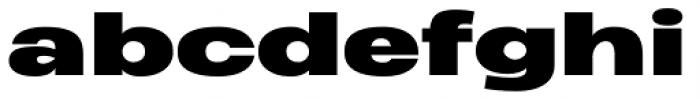 Heading Pro Ultra Wide Black Font LOWERCASE