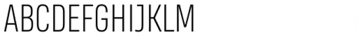 Heading Smallcase Pro ExtraLight Font LOWERCASE