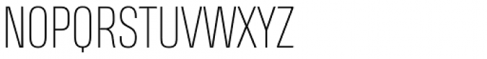 Heading Smallcase Pro Thin Font UPPERCASE
