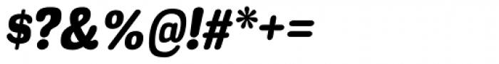 Headlight Heavy Italic Font OTHER CHARS