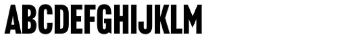 Headline Gothic ATF Font UPPERCASE
