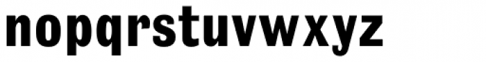 Headline Pro Bold Font LOWERCASE