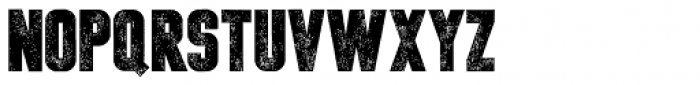 Headlined Font LOWERCASE