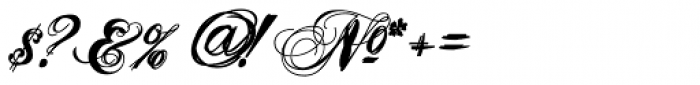 Heathen Font OTHER CHARS