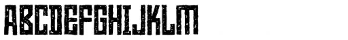 Heatwerk Font UPPERCASE