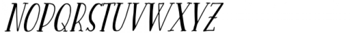 Heaven Wanders Slant Font UPPERCASE