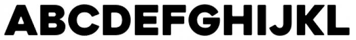 Heavitas Neue Black Font UPPERCASE