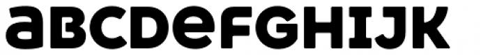 Heavitas Neue Black Font LOWERCASE