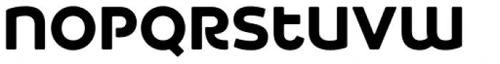 Heavitas Neue Extra Bold Font LOWERCASE