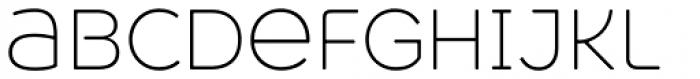 Heavitas Neue Extra Light Font LOWERCASE