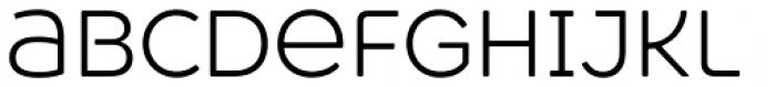 Heavitas Neue Light Font LOWERCASE