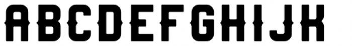 Heavy Boxing Regular Font UPPERCASE