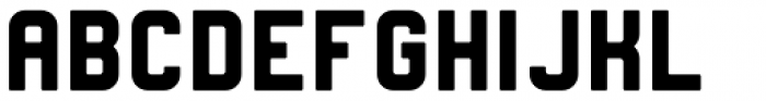 Heavy Boxing Regular Font LOWERCASE