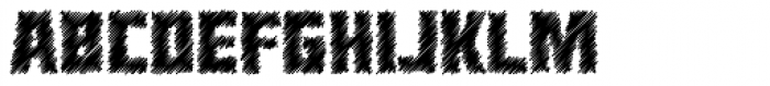 Heavy Duty Sketch Font UPPERCASE