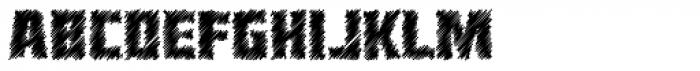 Heavy Duty Sketch Font LOWERCASE