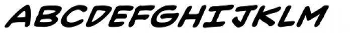 Heavy Mettle UC BB Bold Italic Font UPPERCASE