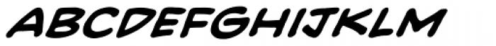 Heavy Mettle UC BB Bold Italic Font LOWERCASE