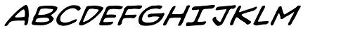 Heavy Mettle UC BB Italic Font UPPERCASE