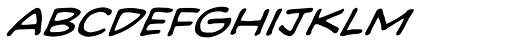 Heavy Mettle UC BB Italic Font LOWERCASE