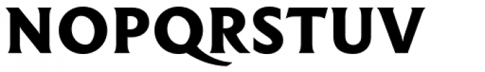 Hebden Incised Font UPPERCASE
