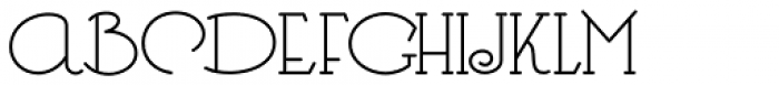 Heberling Casual NF Font UPPERCASE
