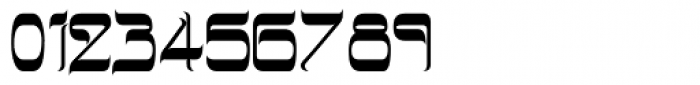 Hebrew Latino Plain Font OTHER CHARS