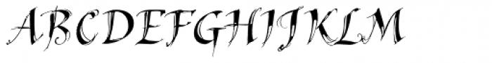Hedera Std Font UPPERCASE