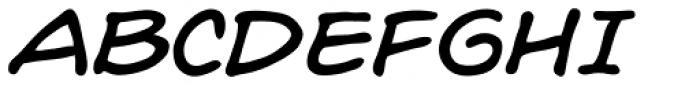 Hedge Backwards Italic Font UPPERCASE