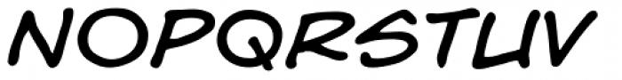 Hedge Backwards Italic Font LOWERCASE