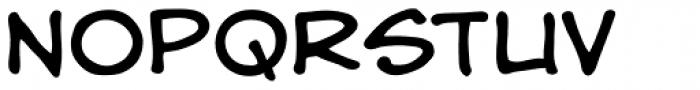 Hedge Backwards Font UPPERCASE