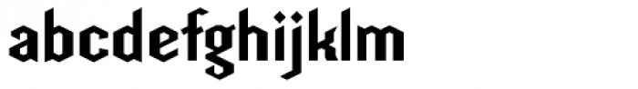 Hefeweizen DTD Font LOWERCASE