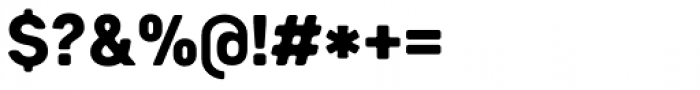 Heiders Sans C Black Font OTHER CHARS