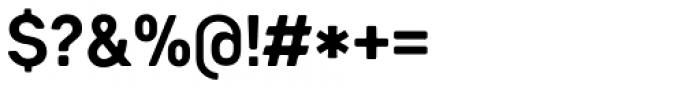 Heiders Sans C Bold Font OTHER CHARS