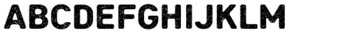 Heiders Sans R1 Black Font LOWERCASE