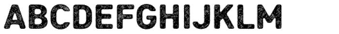 Heiders Sans R4 Black Font LOWERCASE