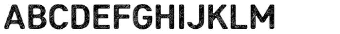 Heiders Sans R4 Bold Font UPPERCASE