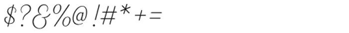Heiders Script C Ext Light Font OTHER CHARS