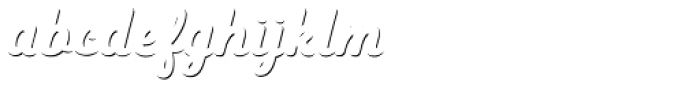 Heiders Script C Sh1 Bold Font LOWERCASE